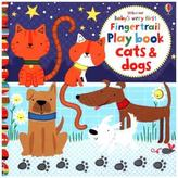 Usborne Baby's Very First Fingertrail Playbook Cats and Dogs