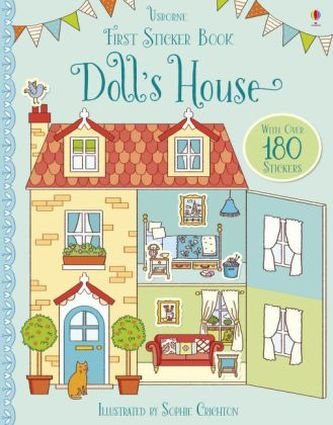 First Sticker Book Doll's House - Wheatley, Abigail
