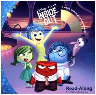 Inside Out, Read-Along Storybook and Audio-CD