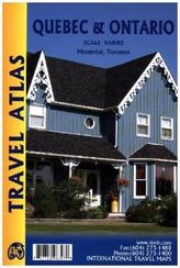 ITM Travel Atlas Quebec & Ontario