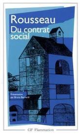 Du contrat social. Vom Gesellschaftsvertrag, französische Ausgabe