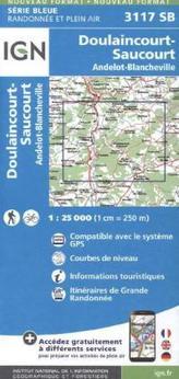 IGN Karte, Serie Bleue Doulaincourt