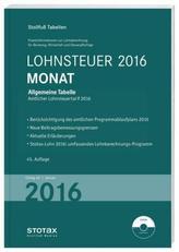 Lohnsteuer 2016 Monat, m. CD-ROM