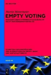 Empty Voting