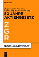 50 Jahre Aktiengesetz