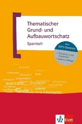 Thematischer Grundwortschatz und Aufbauwortschatz Spanisch, m. MP3-CD