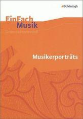 Musikerporträts, m. Audio-CD