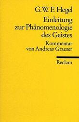 Einleitung zur 'Phänomenologie des Geistes'