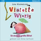 Violetta Winzig - Ein eiskugelgroßes Rätsel, 2 Audio-CDs