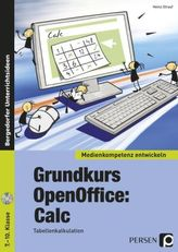 Grundkurs OpenOffice: Calc, m. CD-ROM