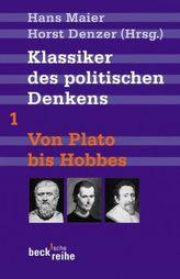 Klassiker des politischen Denkens. Tl.1