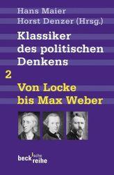 Klassiker des politischen Denkens. Tl.2