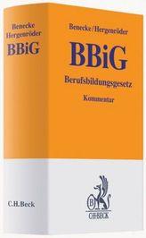 BBiG, Berufsbildungsgesetz, Kommentar