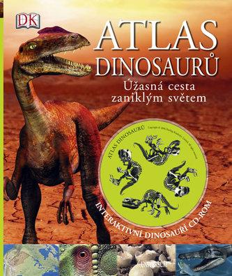 Atlas dinosaurů Úžasná cesta zaniklým světem + Interaktivní dinosauří CD-ROM