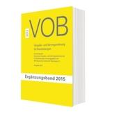VOB Vergabe- und Vertragsordnung für Bauleistungen, Ergänzungsband