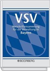 Vorschriftensammlung für die Verwaltung in Bayern (VSV), Ergänzungsband (Pflichtabnahme)