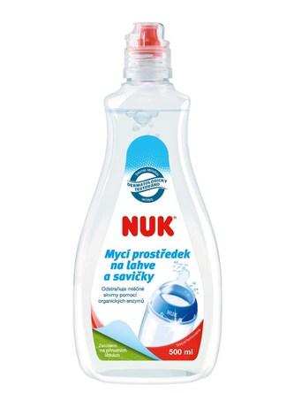 Mycí prostředek na láhve a savičky NUK - 500 ml