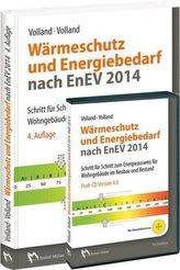 Wärmeschutz und Energiebedarf nach EnEV 2014, m. CD-ROM