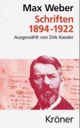 Schriften 1894-1922