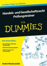 Handels- und Gesellschaftsrecht für Dummies, Prüfungstrainer