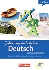 lex:tra Jeden Tag ein bisschen Deutsch als Fremdsprache. Bd.1
