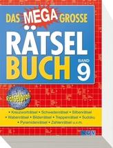 Das megagroße Rätselbuch. Bd.9