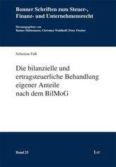 Die bilanzielle und ertragsteuerliche Behandlung eigener Anteile nach dem BilMoG