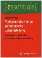 Equibalancedistribution - asymmetrische Dichteverteilung