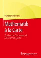 Mathematik à la Carte. Bd.2