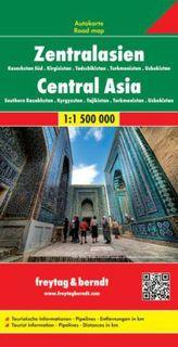 Freytag & Berndt Autokarte Zentralasien. Central Asia / Asie Centrale / Asia Centrale