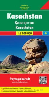 Freytag & Berndt Autokarte Kasachstan. Kazachstan
