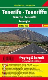 Freytag & Berndt Autokarte Teneriffa. Tenerife. Teneryfa