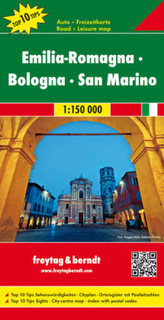 Freytag & Berndt Auto + Freizeitkarte Emilia-Romagna, Bologna, San Marino