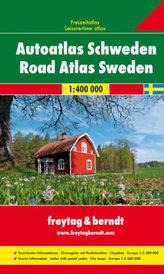Freytag & Berndt Atlas Autoatlas Schweden. Road Atlas Sweden