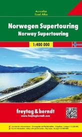 Freytag & Berndt Atlas Norwegen, Autoatlas. Norway Supertouring / Norge Supertouring / Norvege Supertouring / Norvegia Supertour