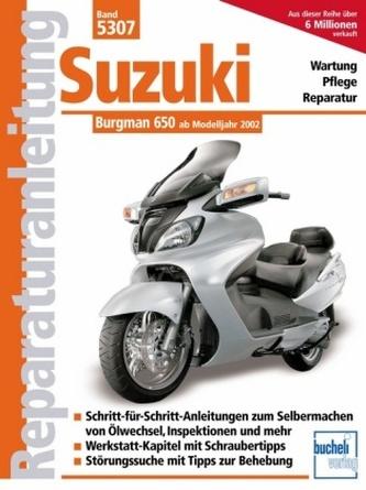 Suzuki Burgman 650 ab Modelljahr 2002