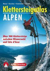 Rother Selection Klettersteigatlas Alpen