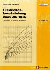 Rissbreitenbeschränkung nach DIN 1045