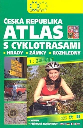 Autoatlas České republiky s cyklotrasami