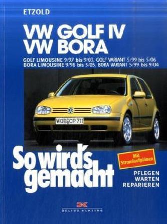 VW Golf IV, VW Bora - Etzold, Rüdiger