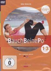 Bauch - Beine - Po, 1 DVD. Level.1-3
