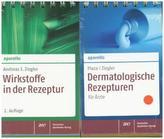 Dermatologische Rezepturen für Ärzte. Wirkstoffe in der Rezeptur, 2 Tle.