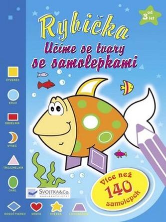 Rybička Učíme se tvary se samolepkami