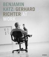 Benjamin Katz. Gerhard Richter at work