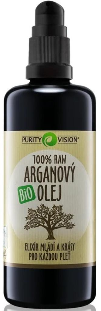 Purity Vision Raw Bio Arganový olej 100ml