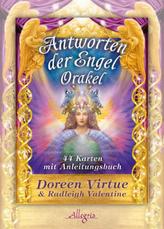 Antworten der Engel-Orakel, Orakelkarten m. Begleitbuch