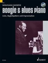 Boogie & Blues Piano, m. Audio-CD