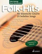 Folk-Hits für klassische Gitarre