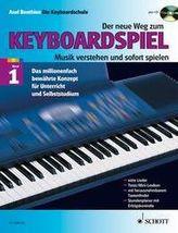 Der neue Weg zum Keyboardspiel, m. Audio-CD. Bd.1