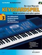 Der neue Weg zum Keyboardspiel, m. Audio-CD. Bd.3